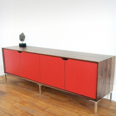 Walnut-and-Red-Laminate-Sideboard-long-01